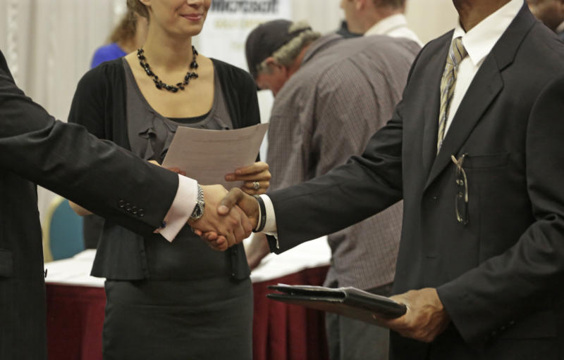 US job openings, hiring rise slightly in May
