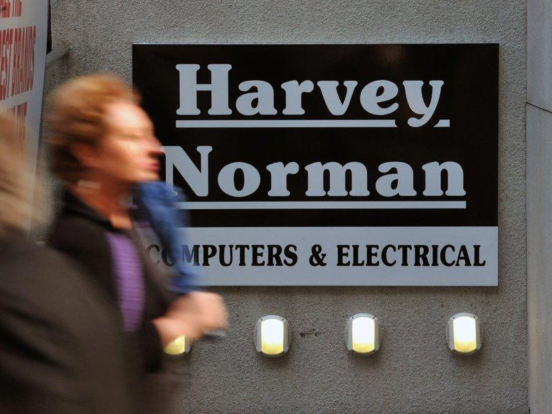 Harvey Norman profit drops 20%