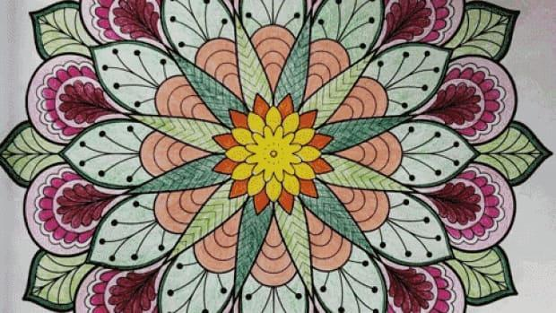 Mandalas are intricate geometric designs that arose centuries ago as an art form among Buddhists in India.