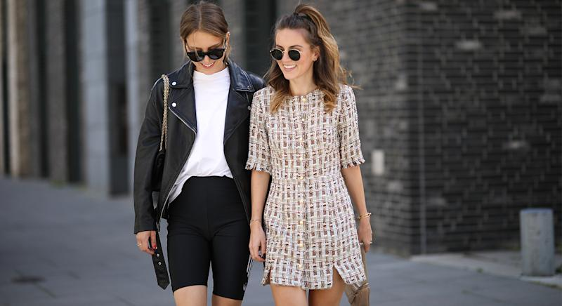 These M&S anti-chafing shorts are back in stock and are the ultimate wardrobe staple to prevent thigh rub - plus they are very on trend this summer. (Getty Images)