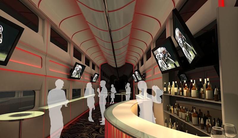 Calif.-Vegas party train could hit tracks in 2013