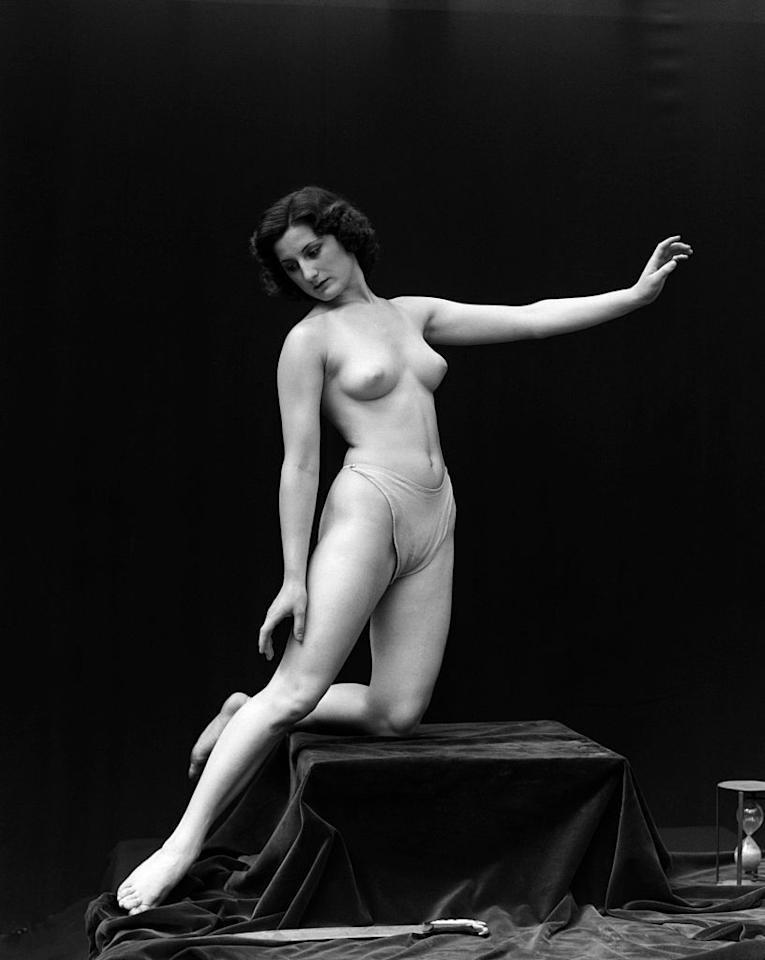 <p>During the 1920s, underwear was considerably more conservative than it is today. Thongs mirrored a shape similar to what modern lingerie retailers would call a bikini cut.</p>