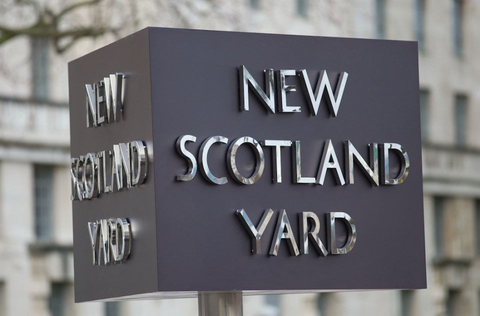 <em>Scotland Yard confirmed that 10 youngsters from London had been held at least 50 times each (Rex)</em>