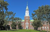 <p><strong>Established in 1769</strong></p><p><strong>Location: Hanover, New Hampshire <br></strong></p><p>Today, Dartmouth is a private Ivy League university, but when it was established in 1769, it was meant to be a school that educated Native Americans in Christian theology and the English way of life. It eventually evolved to become one of the most prestigious schools in the country. </p>