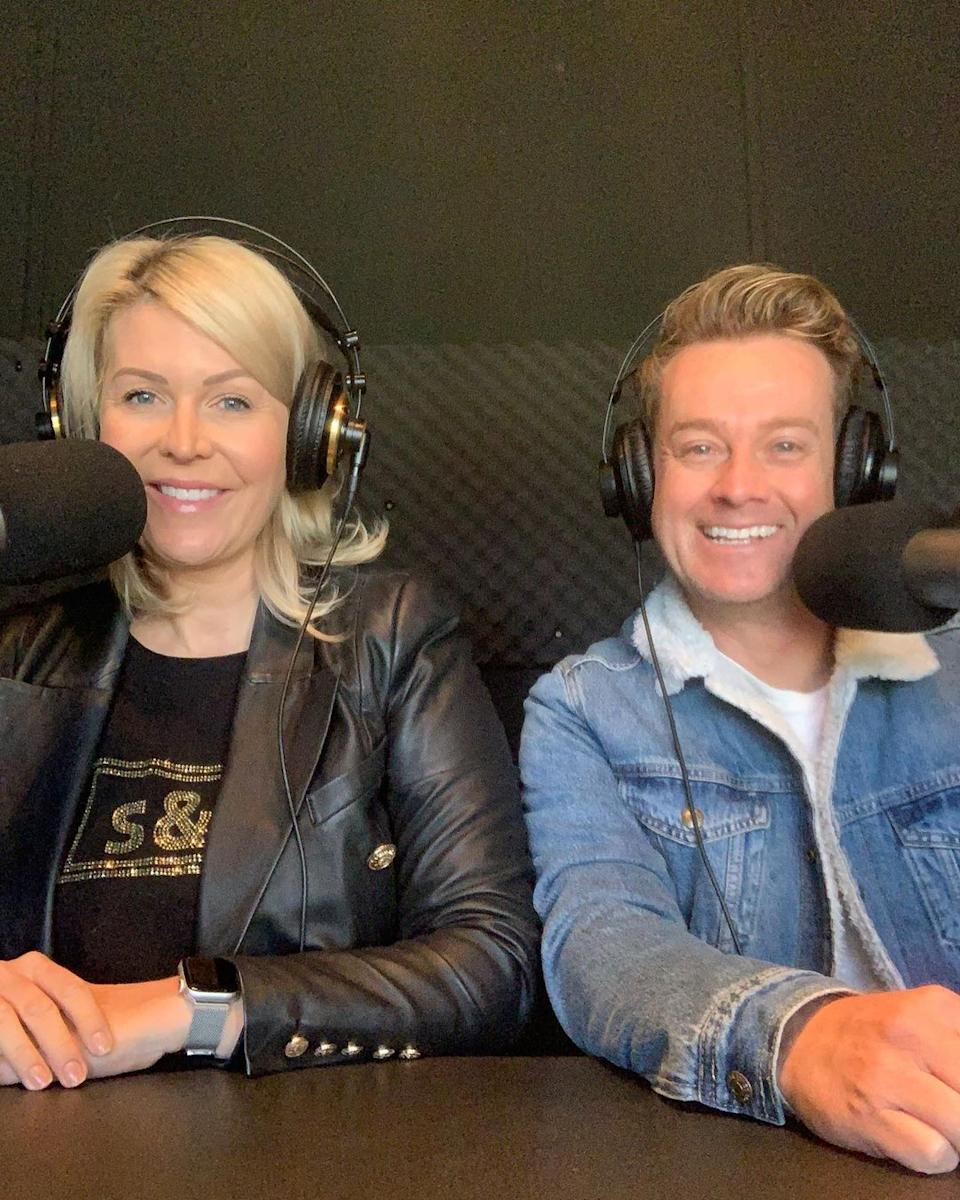 The pair hosts a podcast together called It's All True where Grant has previously opened up about his painkiller addiction. Photo: Instagram/Chezzi Denyer