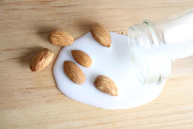 Unsweetened, original almond milk is the lowest-calorie option on the market with just 30 calories per cup. While it lacks protein (only 1 gram per cup), most brands are fortified with calcium, potassium and vitamins A, D and E. Almond milk is vegan and lactose-free, but may not be suitable for those with nut allergies.