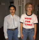 <p>'Riverdale' stars Camila Mendes and Lili Reinhart made us nostalgic with their Halloween costumes this year, as the duo dressed as Pedro and Napoleon from 'Napoleon Dynamite'. <em>[Photo: Instagram]</em> </p>