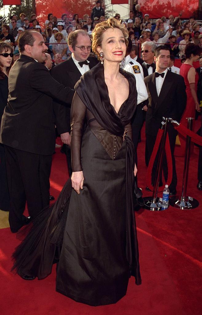 <p>The British star was nominated for her role in 'The English Patient.' (Photo: Frank Trapper/Getty Images) </p>