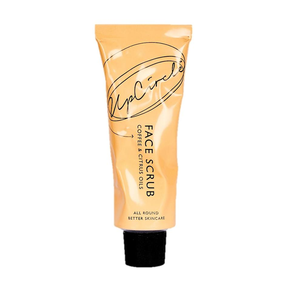 "<p>Brands are beginning to repurpose ingredients that might otherwise be headed to the landfill. This face exfoliator uses coffee grounds from London cafés. It's effective and smells great.</p> <p><strong>Buy It!</strong> UpCircle Face Scrub, $16; <a href=""https://credobeauty.com/products/coffee-face-scrub-citrus-blend"" rel=""nofollow noopener"" target=""_blank"" data-ylk=""slk:credobeauty.com"" class=""link rapid-noclick-resp"">credobeauty.com</a></p>"