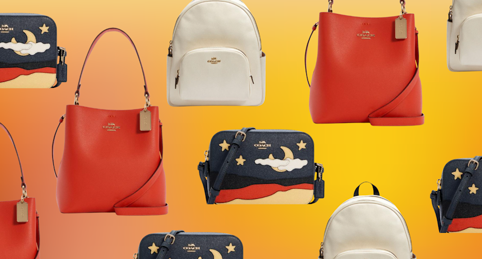 The Coach Outlet just dropped a handful of new styles for summer — and they're up to 70% off (Photos via Coach Outlet)