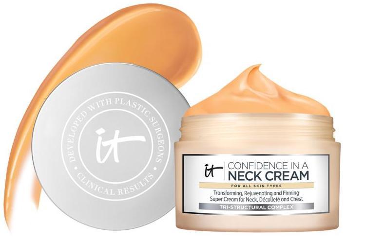 Smooth out your neck and chest with this heavy duty cream. (Photo: HSN)