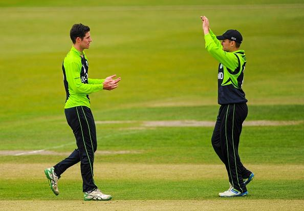 Ireland v USA - ICC World Twenty20 Qualifier 2015 : News Photo