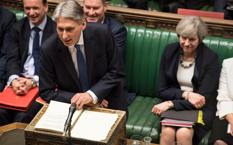 Philip Hammond delivers his Budget - Credit: UK Parliament / Mark Duffy /PA