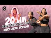 "<p>Full-body cardio and a boogie to Megan Thee Stallion's Savage? File under things we love to see. You'll sweat, smile and sass your way through this confidence-building dance workout. </p><p><a href=""https://www.youtube.com/watch?v=2TmrI31IJmU&ab_channel=and8Fitness"" rel=""nofollow noopener"" target=""_blank"" data-ylk=""slk:See the original post on Youtube"" class=""link rapid-noclick-resp"">See the original post on Youtube</a></p>"