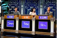"""<p>The best contestants are the ones who have fun with the game and <a href=""""https://better.net/arts-events/movies-tv/jeopardy-heres-actually-happens-behind-scenes/"""" rel=""""nofollow noopener"""" target=""""_blank"""" data-ylk=""""slk:appear happy to be there"""" class=""""link rapid-noclick-resp"""">appear happy to be there</a>. The producers help warm up the competitors beforehand with stories and jokes from past episodes and remind them to be personable when they get out in front of the cameras.</p>"""