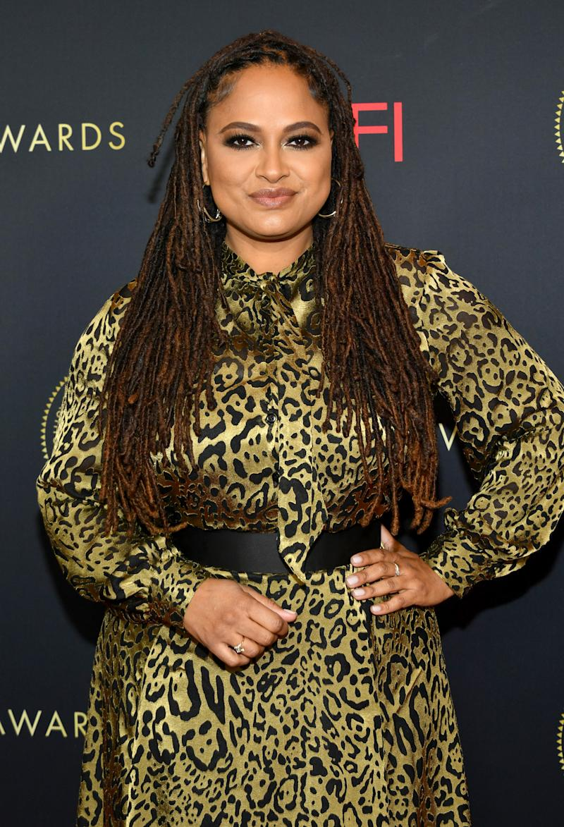 "Director Ava DuVernay told Kelly she should be ""ashamed"" of her remarks on Kaepernick and racism. (Photo: Amy Sussman/Getty Images for AFI)"