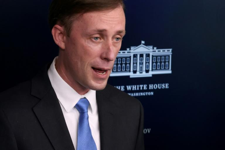 US National Security Advisor Jake Sullivan, seen speaking to reporters at the White House on February 4, 2021, has expressed concern about China's response to the Covid-19 pandemic and warned against interfering in a WHO experts' report
