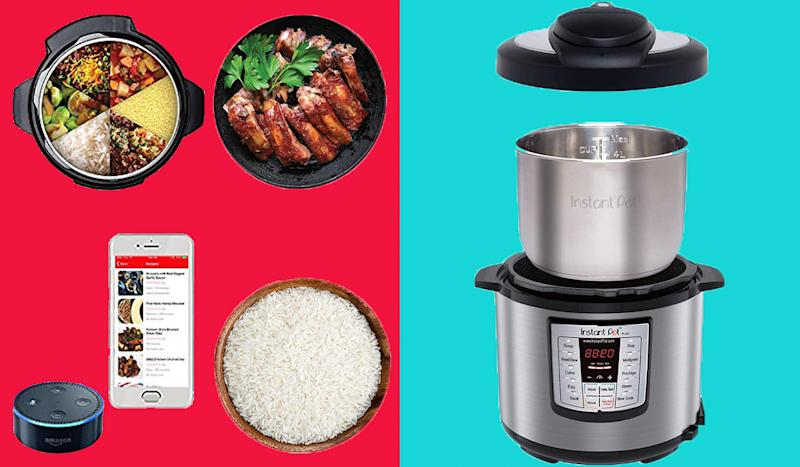 The Alexa-enabled Instant Pot Lux will elevate your meal repertoire. (Photo: Amazon)