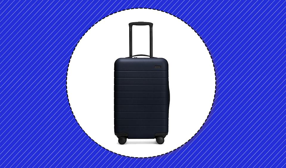 We scoured and searched to bring you the best picks for carry-on luggage. (Photo: Away, Art: Yahoo Lifestyle photo-illustration)