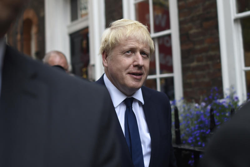 Boris Johnson wins race to become Britain's next PM