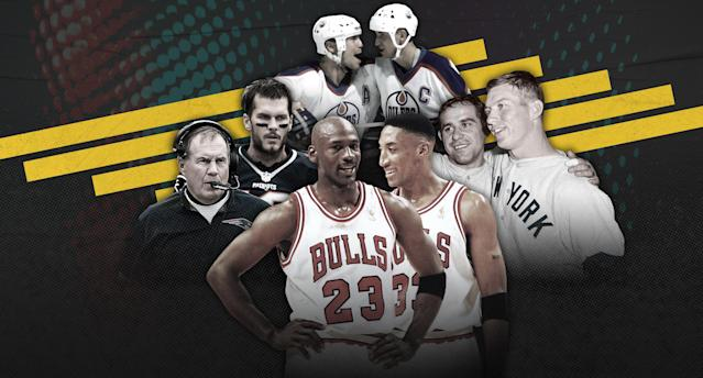 Which is your favorite all-time dynasty team? (Photo by Paul Rosales/Yahoo Sports)