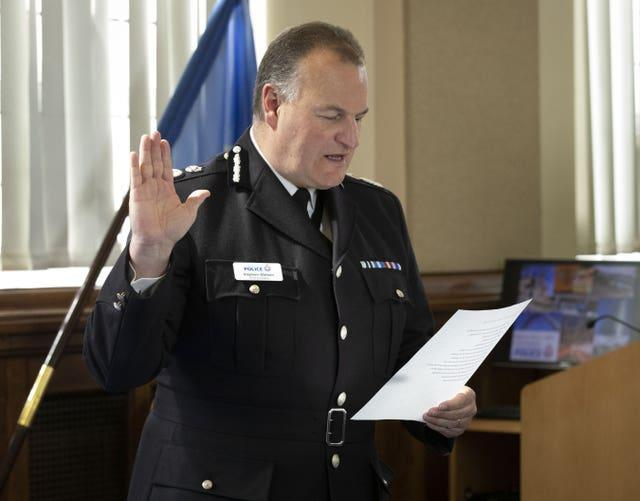 New head of Greater Manchester Police