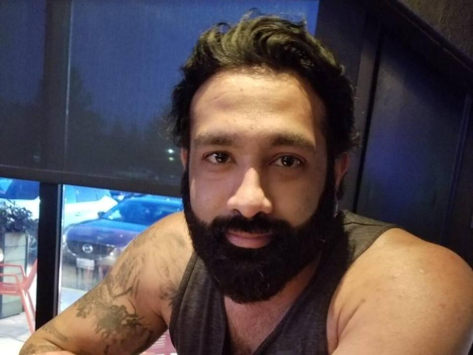 Amanjot Bains, 36, has been identified as the victim of an early morning shooting in Brampton on Tuesday. (Peel Regional Police - image credit)