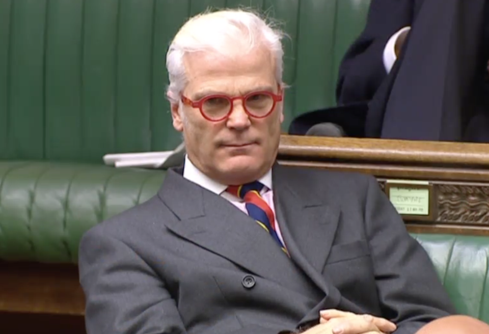Desmond Swayne, former International Development Minister (House of Commons)