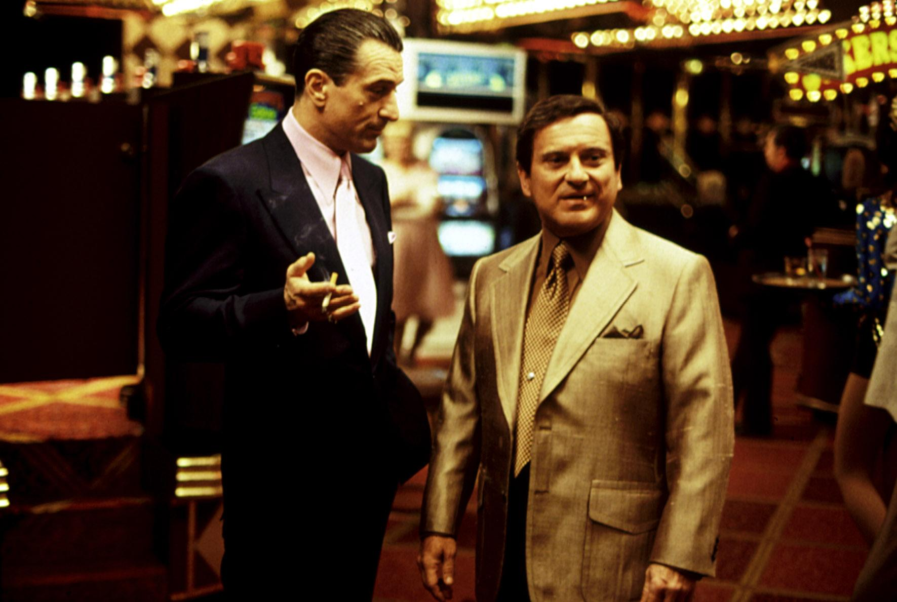 Robert De Niro and Joe Pesci in Scoresese's 1995 epic, 'Casino' (Photo: Universal/Courtesy Everett Collection)
