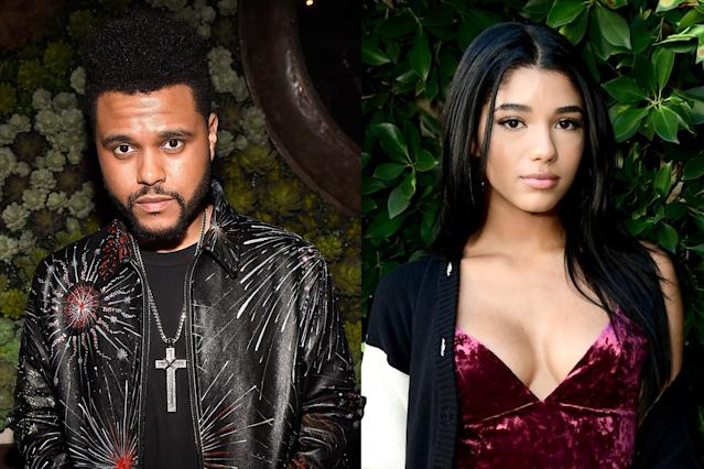The Weeknd is hanging out with Yovanna Ventura. (Photo: Getty Images)