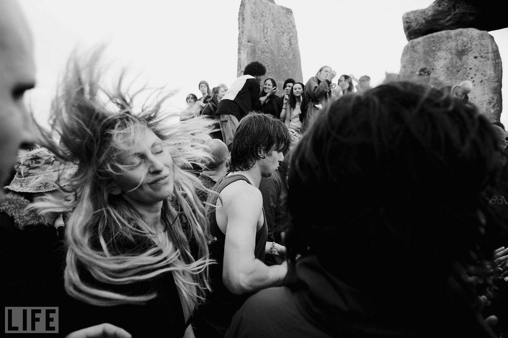 People who identify as Druids are in the minority among the thousands who celebrate the solstice -- and, of course, the far-less-crowded, and much colder, winter equinox -- every year.   Daniel Berehulak/Getty Images
