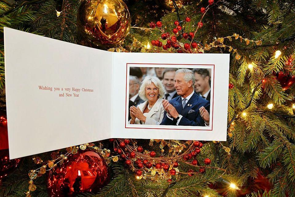 """<p>Prince Charles and Camilla, the Duchess of Cornwall, highlighted the Invictus Games in their holiday card back in 2014. This games is an international sports competition for wounded servicemen, <a href=""""https://www.townandcountrymag.com/society/tradition/a12044088/what-are-the-invictus-games-competition/"""" rel=""""nofollow noopener"""" target=""""_blank"""" data-ylk=""""slk:started by Prince Harry"""" class=""""link rapid-noclick-resp"""">started by Prince Harry</a>.</p>"""