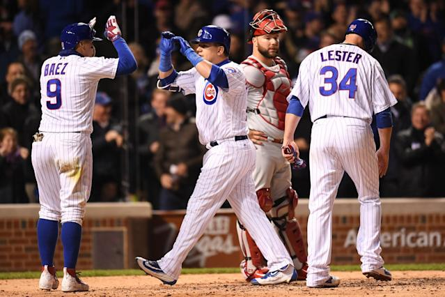 At this point last season, the Cubs were 27-10. Today, they are 18-19. (Getty Images)