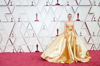 """<p>For anyone who had been missing the red-carpet glamour that we have been starved of during the pandemic, this awards season did not disappoint, and last night's Academy Awards really was the cherry on top of the cake. </p><p>The ceremony – which took place on a smaller scale than usual but still allowed for nominated stars attend in person – saw some of the most beautiful couture gowns grace the red carpet on actresses including Carey Mulligan, Zendaya, Vanessa Kirby and Amanda Seyfried, where there was no holding back when it came to Hollywood glamour.</p><p>Below, we round up our favourite looks from the night – and, to see every single look from <a href=""""https://www.harpersbazaar.com/uk/awards-season/g36225254/red-carpet-oscars-2021/"""" rel=""""nofollow noopener"""" target=""""_blank"""" data-ylk=""""slk:the 2021 Academy Awards red carpet, head this way"""" class=""""link rapid-noclick-resp"""">the 2021 Academy Awards red carpet, head this way</a>.</p>"""
