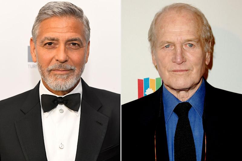 George Clooney wanted to star with Paul Newman in The Notebook