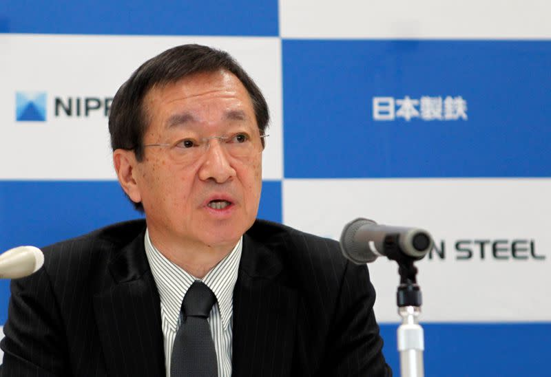 Nippon Steel to seek M&As overseas, but not in Japan - president