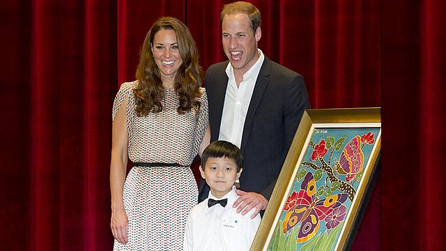 Prince William Reveals He Wants Two Kids with Kate