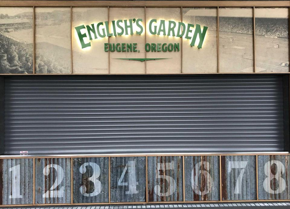 <p>Two concession stands honor Oregon athletes: English's Garden is named for sprinter English Gardner, and Ashton's Eatins is a bow to Ashton Eaton, two-time Olympic gold medalist in the decathlon. </p>