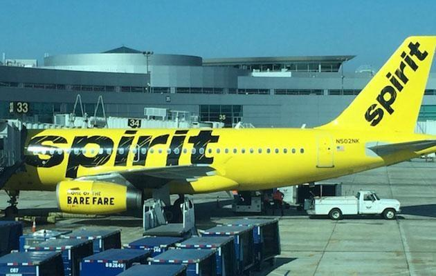 Ironically, Spirit's slogan is 'Home of the bare fare'. Source: One Mile at a Time