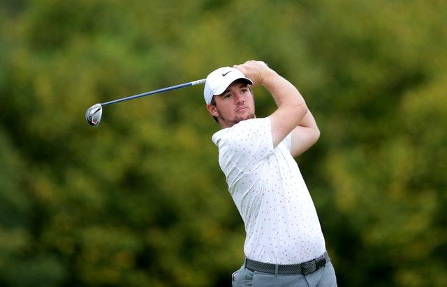 Syme leads Celtic Classic after late collapse from Pieters