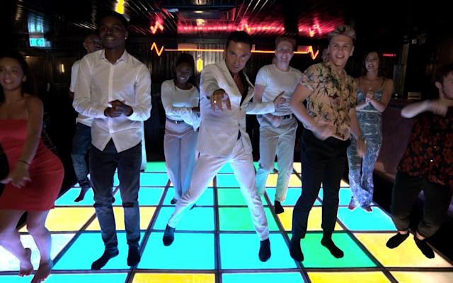 "Friday 22 December Saturday Night Fever: The Ultimate Disco Movie BBC Two, 9.00pm Long before he became a household name as a Strictly Come Dancing judge, Bruno Tonioli had a successful career as a choreographer to the stars, arranging dance for music videos, stage shows and tours for Tina Turner, Sting, Elton John and many others. Here he looks back 40 years to when he was a young dancer in New York and got caught up in the global phenomenon that was Saturday Night Fever. It's a great story, told with typical Tonioli verve, of how a low-budget film starring the then unknown John Travolta and using the music of a failing band of high-pitched popsters, the Bee Gees, became one of the biggest box office draws of all time and gave half the world ""disco fever"". It also shows how – to give credit where it is due – much of its success was down to the visionary genius and unstoppable determination of the Bee Gees' manager, the late Robert Stigwood, impresario behind some of the most popular stars, and hit stage and film musicals (Jesus Christ Superstar, Evita, Grease, Bugsy Malone) of the Seventies. Contributors include Travolta. Gerard O'Donovan The Toys That Made Us Netflix, from today Toys of the Eighties are the focus of this series taking an in-depth look at the nostalgia and collecting fervour that surrounds eight of the biggest selling toy brands of that decade: Transformers, Stars Wars, He-Man, GI Joe, Barbie, Star Trek, Hello Kitty and Lego. Premier League Football: Arsenal v Liverpool Sky Sports Main Event, 7.00pm Action from the Emirates Stadium, as Arsenal look to avenge a 4-0 defeat in August, when Roberto Firmino, Sadio Mane, Mo Salah and Daniel Sturridge all found the net for Liverpool. TOTP4 Christmas 2017 BBC Four, 7.30pm Get into the Christmas party spirit with Mark Radcliffe's countdown of classic festive hits from Top of the Pops's glitter-spattered archive, with The Pogues and Kirsty MacColl, Wizzard, Slade, The Darkness and Ed Sheeran among the acts featured. Jamie and Jimmy's Friday Night Feast Christmas Special Channel 4, 8.00pm Jamie Oliver and Jimmy Doherty welcome actress Liv Tyler to the pier café to make her favourite takeaway, pork dim sum. Oliver also whips up a cracking kedgeree, and Doherty builds a home-made wood-fired oven. Al Murray's Make Christmas Great Again ITV, 9.00pm Al Murray's gloriously unreconstructed pub landlord invites an audience to a lock-in at the Reindeer's Head where he bends ears on such matters as how Christmas is losing its Britishness while whipping up anti-PC seasonal singalongs and remonstrating with celebrity guests. George Michael to Tom Petty: a Tribute Sky Arts, 9.00pm Chuck Berry, Fats Domino and David Cassidy are just some of the musicians and performers who, along with George Michael and Tom Petty, we lost in the past 12 months – as affectionately remembered in this 90-minute tribute. GO Les Dawson: In His Own Words Channel 5, 10.00pm Comedians didn't come more old school than Les Dawson, with his bluff Northern style, rubber face and mother-in-law jokes. But he was one of the most original comedians of his generation, as proved by this terrific documentary that raids the archives for his funniest work. The Graham Norton Show BBC One, 10.40pm Grahm Norton's line-up offers a good mix of interest: Hollywood star Will Smith, Victoria's Jenna Coleman, chef Jamie Oliver and former Keane frontman Tom Chaplin. GO Bright (2017) Netflix, from today This Netflix Original – a $100 million special-effects blockbuster from David Ayer, director of Suicide Squad – sounds like a mash-up of Lethal Weapon and Lord of the Rings. In an alternate Los Angeles where elves and witches walk the streets, Will Smith's tough NYPD officer finds himself partnered with an orc (Joel Edgerton). Considering its hefty price tag and star-studded soundtrack (Migos, Rag'n'Bone Man, Camila Cabello), this could be Netflix's biggest mistake yet Puss in Boots (2011) ★★☆☆☆ BBC One, 3.40pm DreamWorks Animation's Shrek spin-off follows Puss in Boots's life before he became the green ogre's sidekick. With the help of Kitty Softpaws (voiced by Salma Hayek) and Humpty Dumpty (Zach Galifianakis), the swashbuckling feline (Antonio Banderas) becomes a hero after saving his town. Like the CGI ogre's last two films, Shrek the Third and Shrek Forever After, the animation is more impressive than the jokes. Bridget Jones's Diary (2001) ★★★★☆ ITV, 10.40pm American actress Renée Zellweger perfects her English accent to play the Chardonnay-swigging, chain-smoking, lovelorn Bridget in this adaptation of Helen Fielding's novel, which remains a solid favourite. Love interests Hugh Grant and Colin Firth are excellent as her roguish boss Daniel Cleaver and the stuffy-but-handsome (even in a Christmas jumper) lawyer Mark Darcy. Saturday 23 December A Christmas Tree in Manger Square, Bethlehem Credit: Channel 4 The World's Best Christmas Lights: From Liverpool to Bethlehem Channel 4, 8.00pm It is amazing what you can build a successful, multi-million-pound, internationally renowned business from. Liverpool-based company The Christmas Decorators specialise in the commercial design and installation of large-scale Christmas lights and decorations – the kind you see in every shop, street and town square. This entertaining film, one of the more offbeat of the season, follows a rather surprising commission: to install the lights and decorations at what many might consider the birthplace of Christmas – Manger Square in Bethlehem. In fact, they've been doing it every year since 2012, bringing every single bulb and bauble with them from their warehouse in the UK. It's a huge logistical effort, which is also a possibly tricky one, if customs or security in, say, Istanbul take exception to the Bethlehem-bound consignment as it passes through. Director of operations GED Comerford leads the four-person installation team on the trek from Liverpool. It's fraught with hitches and glitches – even a home-baked Christmas cake is regarded with suspicion by local security – but all the more entertaining for that. Gerard O'Donovan Smashie's Xmastastic Playlist Christmas Gold, 4.00pm Getting the Christmas party off to an early start from his fab-tastic hideaway at Radio Hush, The Fast Show's Mike Smash (Paul Whitehouse) brings his off-kilter pop-DJ insights to an hour of festive hits from Wizzard to Johnny Mathis via McCartney, Dylan and Springsteen. Elf: The Musical Channel 5, 5.00pm There's seasonal song, dance and fun in the stage musical version of Will Ferrell's much-loved comedy from the Lowry Theatre in Salford. Ben Forster, who won ITV's Superstar talent search in 2012, leads the cast as Buddy, a human orphan who was raised by Santa's elves in the North Pole and returns to New York in search of his family. Michael Buble's Christmas in New York Sky Arts, 5.00pm At the Radio City Music Hall the crooner sings a selection of seasonal classics, along with a sparkling line-up of special guests including Barbra Streisand, Ariana Grande and The Muppets' Miss Piggy. It is repeated on Sky One at 12.15am. Pointless Celebrities Christmas Special BBC One, 6.15pm Some of the contestants in this festive edition of the quiz could themselves be pointless answers in a round on Christmas hits. Jona Lewie, Jimmy Osmond and Ben Haenow are among those answering Alexander Armstrong questions. Blind Date Christmas Special Channel 5, 8.00pm There's a fairy-tale spin to this edition of Paul O'Grady's matchmaking show, as a Prince Charming has to choose between fellow panto actors Cinderella, Snow White and Tinkerbell. It's Christmas Live from the Royal Albert Hall Sky One, 8.00pm The Royal Albert Hall is transformed to a rock 'n' roll winter wonderland as Jason Manford introduces performances by Holly Johnson, Marc Almond, Chrissie Hynde and Shakin' Stevens, among many others. GO Feud: Bette and Joan BBC Two, from 9.00pm; NI, from 9.30pm Ryan Murphy's stylish and scathingly catty dramatisation of the Hollywood feud between Bette Davis (Susan Sarandon) and Joan Crawford (Jessica Lange) reaches the moment that the actresses' mutual loathing went off the scale – while working on the 1962 classic What Ever Happened to Baby Jane? (which follows). GO Harry Potter and the Philosopher's Stone (2001) ★★★☆☆ ITV, 1.35pm From today to New Year's Day, ITV are screening all of the Harry Potter films – one film a day, except on Boxing Day. This first adaptation of J K Rowling's novel was, for a while, the second highest-grossing film ever. Daniel Radcliffe, Emma Watson and Rupert Grint are endearing (and very young) in the lead roles but the film lacks the original book's compulsiveness. Frozen (2013) ★★★★★ BBC One, 2.50pm Disney's 53rd feature is an enchanting combination of fairy-tale derring-do and heart-popping musical numbers that has left children and adults powerless to its charms. Elsa (Idina Menzel) is a shy princess driven into exile when her magical powers are discovered. Her sister Anna (Kristen Bell) gallops off to fetch her from her beautiful ice palace. Spin-off Olaf's Frozen Adventure is on Christmas Day. Bill (2015) ★★★★☆ BBC Two, 6.00pm Intelligent children and immature adults will love this mock-biopic from the Horrible Histories troupe that follows the young William Shakespeare (Mathew Baynton) as he ascends from quill-scraping zero to literary hero. Some of the best moments (a running joke about false moustaches is one) are full-bloodedly Pythonesque, although occasionally a kind of student-revue smarminess creeps in. What Ever Happened to Baby Jane? (1962, b/w) ★★★★★ BBC Two, 10.35pm; not N Ireland Robert Aldrich's classic slice of American Grotesque, starring two of cinema's greatest screen divas, started a trend for casting ageing actresses in campy Gothic horror movies. Joan Crawford and Bette Davis play reclusive sisters locked in an abusive relationship in their crumbling Hollywood mansion. Christmas Eve Sue Perkins, Mary Berry and Mel Giedroyc Credit: BBC Mary, Mel and Sue's Big Christmas Thank You BBC One, 7.00pm Anyone looking for some extra festive cheer should look no further than this exuberant Christmas special which sees former Great British Bake-Off stars Mary Berry, Sue Perkins and Mel Giedroyc join forces to help out at a community centre in the Rhondda Valley in Wales. Initially, it seems as though this is one of those rather forced shows in which celebrities dispense good cheer and bad jokes, but an emotional story of community spirit in the face of despair swiftly emerges. ""We've lost our library, our butchers, both banks have closed and there's no school,"" states Elizabeth ""Buffy"" Williams. Working with her friend Lynne, Buffy has attempted to combat that by opening a community centre offering meals, bingo and after-school classes. Now they want to throw a special Christmas meal for the whole community but it's tough: the kitchen is small, money is tight and Lynne freely admits that she hates cooking. Enter the indomitable Mrs Berry, who rolls up her sleeves, corrals Daffyd, a 16-year-old with a GCSE in catering, into becoming her sous chef and helps Lynne tackle her phobia. The final celebration should bring a tear to even the most cynical of eyes. Sarah Hughes Premiership Rugby Union: Leicester Tigers v Saracens BT Sport 1, 2.30pm Below-par this season, Leicester will be hoping a win here at Welford Park against third-placed Saracens will give them fresh momentum going into the new year. Countryfile BBC One, 6.00pm The team head to the Peak District for this special which sees John Craven exploring Longshaw Estate, Anita Rani experiencing a Nativity play with a difference and Matt Baker venturing into Peak Cavern for a carol concert. Christmas University Challenge 2017 BBC Two, 8.00pm; Scotland, 5.45pm There's something addictive about the University Challenge's specials, possibly because they allow us to see celebrities in a new light. The opener sees a team from Durham University, including actor Nick Mohammed, take on a Keble College side featuring Katy Brand. Child Genius vs Celebrities Christmas Special Channel 4, 8.00pm Richard Osman is our host for this Christmas special, which sees past child geniuses take on, among others, Catastrophe star Rob Delaney and broadcaster Janet Street Porter. Will youth or experience win out? Michael McIntyre's Big Christmas Show BBC One, 8.30pm The comedian returns for a festive edition in which Alesha Dixon risks social disaster by handing over her phone in Celebrity Send-to-All, plus there's stand-up from Bill Bailey and music from Seal. Maigret in Montmartre ITV, 8.30pm Critics haven't always been kind to ITV's reboot of Georges Simenon's Maigret featuring Rowan Atkinson. Yet there's actually a lot to like here. Atkinson underplays the role nicely, the plots are serviceable and the whole thing is entertaining if undemanding fare. This episode sees Maigret drawn in to the murder of a showgirl. SH M R James evening BBC Four, from 9.00pm Shut the doors, draw the curtains and prepare to be thoroughly spooked as BBC Four dedicates an evening to ghost writer supreme M R James. First up, long-time James fan Mark Gatiss looks at how this diffident Anglican bachelor created stories that still send a tingle down the spine a century after they were written. It's followed at 10pm by two adaptations of James's work: The Tractate Middoth, a chilling story about vengeance from beyond the grave, starring Sacha Dhawan and John Castle, and No 13, featuring Greg Wise as an academic who uncovers more than he bargains for in a small medieval town. Billy Elliot: the Musical Sky Arts, 9.00pm Anyone who hasn't managed to catch Stephen Daldry's big-hearted musical take on his film about a miner's son who just wants to dance can find out what all the fuss is about with this performance from 2014 starring Ruthie Henshall and Elliott Hanna. SH Gone with the Wind (1939) ★★★★★ Channel 5, 9.20am Hollywood's highest-grossing movie until The Sound of Music in 1966, this was the film for which the word ""epic"" was invented. Vivien Leigh became a star as Scarlett O'Hara, the spoilt Southern belle whose life is turned upside down by the US Civil War. Clark Gable and Leslie Howard are her lovers. It's brash and self-indulgent, but frankly we don't give a damn. The Lego Batman Movie (2017) ★★★★☆ Sky Cinema Premiere, 1.25pm and 7.00pm Don't tell Ben Affleck – who plays Actual Batman – but the actor has been made surplus to requirements by one and a half inches of moulded plastic. Lego Batman's debut solo feature, spun off from a cameo in The Lego Movie, is frantically and relentlessly funny as a new police commissioner (Rosario Dawson) threatens to make the Caped Crusader redundant. Guys and Dolls (1955) ★★★★☆ BBC Two, 3.20pm The 1955 film adaptation of the Broadway classic holds up rather well. The stellar casting certainly helps: Marlon Brando and Frank Sinatra in one film – as the rival New York gamblers (and gangsters) Sky Masterson and Nathan Detroit, who place a bet on compromising the virtue of a pious Salvation Army woman, Sarah Brown (played by Jean Simmons). The musical numbers are still a delight. The Muppet Christmas Carol (1992) ★★★★★ Channel 4, 6.30pm Tiny Tim is a small green frog, Mrs Cratchit is a bad-tempered pig and Charles Dickens himself is portrayed by Gonzo, enormous blue nose and all. And yet, there are few better, or more affecting versions of A Christmas Carol than this musical adaptation. Michael Caine is ideal as the miserly Scrooge, the laughs are aplenty and the finale is as rousing as they come. Christmas Day Peter Capaldi and David Bradley Credit: BBC Doctor Who BBC One, 5.30pm While it's not unusual for Doctor Who to begin with a ""Previously…"", this one takes things all the way back to William Hartnell's First Doctor, having faced the Cybermen at the South Pole and refused to regenerate. After necessarily metamorphosing into David Bradley (who played Hartnell in Mark Gatiss's docudrama An Adventure in Space and Time), he duly encounters Peter Capaldi's Twelfth Doctor, in a similar fix. Throw in Mark Gatiss's doomed British army captain, transported from the Western Front at the moment of death with stiff upper lip wobbling, a mysterious glass woman (Nikki Amuka-Bird) with the power to freeze time, the return of Bill (Pearl Mackie) and a few other surprises, and you have another of Steven Moffat's self-imposed riddles to unravel. Given that this is Moffat's own last stand, and with Jodie Whitaker due to make her bow at the end of the episode, you might anticipate a tsunami of self-indulgence and sentimentality, but no. Capaldi and Mackie's snappy, affectionate chemistry precludes such easy options, Gatiss is restrained and funny and Moffat's musing on war and peace is enough to bear the wit and self-referentiality. A dignified farewell. Gabriel Tate The Highway Rat BBC One, 4.45pm Rob Brydon narrates and David Tennant voices the eponymous anti-hero in another enchanting adaptation of a Julia Donaldson/Axel Scheffler picture book, this time depicting the comeuppance for a selfish, swashbuckling rat and his long-suffering steed.. The Royal Opera: Puccini's La Boheme BBC Four, 7.00pm Clemency Burton-Hill introduces Richard Jones's production of Puccini's tale of love and loss among bohemians in 19th-century Paris, conducted by Antonio Pappano and starring tenor Michael Fabiano and soprano Nicole Car as star-crossed lovers Rodolfo and Mimi. Jones's production has a wintry charm that should see it sit very comfortably in today's schedules. Olaf's Frozen Adventure Sky Cinema Premiere/On Demand, 7.30pm Perhaps better suited to television after a brief run in cinemas that saw parents complaining about it delaying screenings of Coco, this Frozen spin-off finds the cheerful snowman Olaf (voiced by Josh Gad) joining his reindeer, Sven, on a mission for their royal highnesses Elsa (Idina Menzel) and Anna (Kristen Bell) who are desperate to create their own Christmas tradition. Expect four catchy new songs to be ringing around your head. GT Call the Midwife BBC One, 7.40pm Call the Midwife pulls out all the stops for this astoundingly gloomy affair as a Boxing Day freeze descends, stranding Valerie (Jennifer Kirby) in a caravan for an ad hoc delivery and accounting for a popular old timer with a very dark secret. The Great Christmas bake off Channel 4, 7.40pm Val and Selasi from last year, Paul Jagger (he of 2015's bread lion) and Welsh Beca, a 2013 semi-finalist, return to compete for Star Baker, introduced and judged by the new Fab Four. There's more of the same on New Year's Day. Victoria ITV, 9.00pm The Queen (Jenna Coleman) is pregnant again and missing her governess, leaving Albert (Tom Hughes) in the unlikely role of Christmas merrymaker-in-chief. It's a festive special by numbers, but affecting and easy on the eye. Ashes Cricket: Australia v England BT Sport 1, 10.30pm It's been a fraught series, on and off the field, for England, with their players' professionalism frequently called into question. This signals the start of the fourth Test, played at Melbourne Cricket Ground. Can Joe Root's beleaguered side salvage some dignity? Or will the Aussies continue to have a field day? 300 Years of French & Saunders BBC One, 10.35pm Unseen footage, much-loved sketches and of course Lulu feature in this one-off, which sees the duo back together on TV for the first time in a decade. The new material is intermittently inspired and vigorously performed, with The Handmaid's Tale, the Kardashians and Poldark all subjected to their attentions. GT Singin' in the Rain (1952) ★★★★★ Channel 5, 1.05pm There are few movie scenes more memorable than Gene Kelly's rain-soaked Singin' in the Rain sequence, or many more jaw-dropping than Donald O'Connor's walk up the wall. But more than song and dance, this film contains real satire as it recounts the introduction of the ""talkie"" and the superficial nature of the US film industry. Debbie Reynolds (who died a year ago, one day after daughter Carrie Fisher) co-stars as the Hollywood ingénue. Cinderella (2015) ★★★★☆ BBC One, 3.10pm Kenneth Branagh's twinkling, live-action Cinderella sticks doggedly to Disney's 1950 animated version (Cinders's rodent companions are present) and favours sparkle over wit. However, Cate Blanchett is marvellous as the Wicked Stepmother and Helena Bonham Carter makes a jolly good Fairy Godmother. Princess-obsessed little girls will find it irresistible and the costumes are stunning. Oliver! (1968) ★★★★☆ Channel 5, 3.10pm Carol Reed, who had previously directed The Third Man, won an Oscar for his superior version of Lionel Bart's musical of the classic Charles Dickens tale (Reed's only ever attempt at the musical genre). Eight-year-old Mark Lester is sweet as Oliver Twist but it was Ron Moody as Fagin who received the Oscar nod. Reed's nephew, another Oliver, is a brooding and brutal Bill Sikes and still has the potential to shock. Dumbo (1941) ★★★★★ Channel 4. 4.30pm It may be one of Disney's shortest animated films, but it is also one of its most loved. Baby elephant Dumbo is born with unfeasibly large ears, is separated from his mother and becomes ostracised by his fellow circus animals. It is only when Timothy Mouse encourages Dumbo to make the most of his ears that he discovers he can fly. This remains an undisputed masterpiece from Disney's golden age of animation. Boxing Day Willa Fitzgerald, Kathryn Newton, Maya Hawke and Annes Elwy Credit: BBC Little Women BBC One, 8.00pm One suspects that this beautiful adaptation of Louisa May Alcott's much-loved coming-of-age novel (published in 1868) was due a less prominent airing until the BBC had to shelve its flagship festive Agatha Christie adaptation Ordeal by Innocence due to sexual assault allegations against one of the stars. That seems no great loss now, as this sparkling gem of a drama – scripted by Call the Midwife creator Heidi Thomas – more than deserves a Boxing Day prime-time slot. Told in three parts, it follows the lives of the March sisters – Jo (Maya Hawke), Meg (Willa Fitzgerald), Beth (Annes Elwy), and Amy (Kathryn Newton) – as they progress from adolescence to adulthood under the protective eye of their mother, Marmee (Emily Watson), while their father is away in the American Civil War. As life-affirming a tale as you could want this time of year, it's full of high spirits and loving kindness. There are nice cameo performances by Michael Gambon and Angela Lansbury, but in the opening part, the acting laurels go to Hawke for her spot-on portrayal of tomboyish proto-feminist Jo, and Jonah Hauer-King, as boy next door Laurie Laurence. Gerard O'Donovan Todd Barry: Spicy Honey Netflix, from today Stand-up Todd Barry is best known in the US for his bone-dry wit. Anyone seeking relief from the festive season's more saccharine shows will be sure to find it in this one-off recording from his latest tour. Premier League Football: Tottenham Hotspur v Southampton Sky Sports Main Event, 12.00noon Spurs won both of their matches against the Saints last season, including a 2-1 victory in one of their final home matches at White Hart Lane. Christian Eriksen and Dele Alli both scored in the first half, with James Ward-Prowse pulling one back for Southampton in the second. Matthew Bourne's Cinderella BBC Two, 5.35pm From Sadler's Wells, a treat for dance fans in this dazzling Blitz-era reworking of Prokofiev's classic ballet, performed by Bourne's New Adventures company. Snow Bears BBC One, 6.30pm Kate Winslet narrates this documentary following a pack of polar bears as they embark on an eventful 400-mile journey to reach the pack ice where they hunt. Surprisingly charming. Discovering: Julie Andrews Sky Arts, 7.00pm A look at the life and career of an actress and singer more associated with Christmas than most, thanks to endless festive repeats of Mary Poppins and The Sound of Music. But there's much more to Julie Andrews than that, as shown in this beautifully put-together profile. Reindeer Family and Me BBC Two, 8.00pm Wildlife film-maker Gordon Buchanan's festive offering focuses on Santa's favourite quadruped. In Lapland, Buchanan settles in with the nomadic Sami people to learn the ways of the herder, before setting out with a single reindeer to capture the Northern Lights as they've never been filmed before. Royal Institution Christmas Lectures 2017: The Language OF life BBC Four, 8.00pm This year's theme, The Language of Life, sees cognitive neuroscientist Professor Sophie Scott of UCL embark on an exploration of the urge to communicate. In the opener, she unpicks the evolution of the human voice. GO The Miniaturist BBC One, 9.00pm An absorbing adaptation of Jessie Burton's bestseller about a young woman thrust into an arranged marriage with a perplexing merchant in 17th-century Amsterdam. It looks exquisite, although the constant quest to shoot each frame as if it were a Vermeer painting doesn't help the pace. Anna Taylor-Joy plays 18-year-old Nella with suitable bafflement, Alex Hassell intrigues as Johannes, while Romola Garai steals the show as his sister, Marin. Concludes tomorrow. Big Fat Quiz of the Year 2017 Channel 4, 9.00pm Jimmy Carr hosts C4's alternative comedy quiz looking back at the year in the news, with guests including Richard Ayoade, Noel Fielding, David Mitchell and Katherine Ryan. GO Mary Poppins (1964) ★★★★★ BBC One, 3.45pm This is the popular story of a magical nanny (Julie Andrews) who takes over a London home, transforming the lives of its inhabitants. Dick Van Dyke may affect the worst cockney accent ever heard on film, but the combination of the catchy songs, sumptuous live action and colourful animation makes this one of the most enduring children's films, and a staple of the festive schedules. The film was nominated for 13 Oscars. Beauty and the Beast (2017) ★★★★☆ Sky Cinema Premiere, 10.55am and 5.50pm Emma Watson dazzles in Disney's show-stopping, live-action, chocolate box remake. The film's songs – which include three new ones – by Alan Menken are the pulse, the purpose and the headline draw, while Ewan McGregor is delightful as Lumière, Luke Evans perfect as Gaston, and Dan Stevens, in digital fur, is the Prince. The Little Mermaid (1989) ★★★★☆ Channel 4, 4.20pm This vivacious retelling of Hans Christian Andersen's fairy tale began a rich vein of form for Disney animations (Beauty and the Beast, Aladdin and The Lion King followed). A combination of unforgettable characters, including Sebastian the singing Jamaican crab and the delightfully evil baddie Ursula (based on drag queen Divine), and catchy songs makes Ariel's journey to dry land a magical thing. Jurassic World (2015) ★★★★☆ ITV, 6.40pm Can modern audiences still be wowed by computer-generated dinosaurs? This long-awaited Jurassic Park sequel (the original movie was released in 1993) proves that they can. A new attraction at the dinosaur theme park, created to re-spark visitor interest, gravely backfires and it's left to Chris Pratt's raptor trainer and Bryce Dallas Howard's scientist to save the day. Jurassic World: Fallen Kingdom is out next year. Wednesday 27 December Steve Coogan as Alan Partidge Credit: BBC Alan Partridge: Why, When, Where, How and Whom? BBC Two, 9.00pm Unfortunately, there were no previews available for this palate-cleansing documentary ahead of Alan Partridge's return to the BBC for a new series next year, which co-creator Steve Coogan promises will include the sometime Radio Norwich presenter's take on that most contentious of topics, Brexit. It's been 25 years since he and Armando Iannucci created the hapless Partridge, described by Iannucci as ""a kind of social X-ray of male middle-aged Middle England"", a bombastic, self-important local presenter with an unwavering belief in the importance of the highway code and ""imperial leisurewear"". Now this documentary attempts to explain why this character, above all others, has touched such a nerve. Among those contributing are Coogan and Iannucci, Patrick Marber, Peter Baynham, Rebecca Front, David Schneider and Doon Mackichan, and we're also promised unseen archive footage. The real secret to Alan's lasting appeal is a simple one, however: he's a fully realised character and a very English monster in the same vein as Basil Fawlty. Even as we laugh at him, we're moved by his increasing self-awareness. Sarah Hughes Celebrity Mastermind BBC One, 7.00pm Actor Jack Ashton, comedian Rich Hall, Match of the Day commentator Guy Mowbray and poet Pam Ayres join John Humphrys for a new run of the celebrity edition. Among the specialist subjects tonight are Tennessee Williams, Iron Maiden and Ashes Cricket. Agatha Christie vs Hercule Poirot Sky Arts, 7.30pm Pierre Bayar presents this interesting deconstruction of one of Agatha Christie's most celebrated novels, The Murder of Roger Ackroyd, in which he alleges a miscarriage of justice by Poirot. Six Robots & Us BBC Two, 8.00pm Psychologist Dr Caroline Jay and robotics specialist Prof Jonathan Rossiter join forces in this fascinating experiment which aims to uncover how helpful the latest innovations in robotics truly are. To find out the team deliver four very different robots to families around the UK. Royal Institution Christmas Lectures 2017: the language of life BBC Four, 8.00pm Professor Sophie Scott, UCL's Head of the Speech Communications Group, gives this year's lecture, looking at silent communication and why our body language and smells can say as much if not more than our words and sounds. World's Strongest Man 2017 Channel 5, 8.00pm Channel 5 brings us all the action from the World's Strongest Man competition in Botswana. All eyes are on the USA's Brian Shaw, the defending champion, who is hoping to win for a record firth time. Turtle, Eagle, Cheetah: A Slow Odyssey BBC Four, 9.00pm BBC Four's latest foray into the enticing world of slow TV is this nature documentary which focuses on the different views of a cheetah on the African savannah, a green turtle in the Indonesia reefs and a white-tailed eagle in Scotland. SH Miranda Does Christmas Channel 4, 9.00pm Like many an institution before her, Miranda Hart has swapped the BBC for Channel 4 on her return to the small screen. Here, Hart hosts a ""raucous Christmas party"" with guests including David Tennant, Sam Smith and Prue Leith. SH The Red Shoes (1948) ★★★★★ BBC Two, 12.10pm Powell and Pressburger's seminal musical tragedy is one of cinema's great wonders. It's about a talented ballet dancer (Moira Shearer), her romance with a struggling composer (Marius Goring) and her loyalty to the ballet that he wrote and in which she is meant to star. The film's theme of the pre-eminent call of creative passion is thought to be an allegory for P & P's devotion to their craft. Big Hero 6 (2014) ★★★★☆ BBC One, 4.10pm This Disney animation is an East-meets-West adventure with buckets of heart and soul – and quite possibly Disney at its adorable, huggable, and most visually extravagant best. Hiro Hamada, a 14-year-old orphan living in the city of San Fransokyo, befriends Baymax, a 10-foot-tall, bright, white inflatable robot invented by his elder brother, who's killed in a mysterious fire at his laboratory. Scrooged (1988) ★★★★☆ Film4, 4.35pm 9+Bill Murray plays a mean-spirited network TV president who sees the light after he experiences ghostly visitations – including Carol Kane as a happy-slapping fairy in a tutu – in this droll comic update of Dickens's tale. Murray is on deadpan, cynical form (""Have you tried staples?"") and Robert Mitchum contributes a priceless cameo as a fellow executive with plans to produce TV shows for cats and dogs. Oasis: Supersonic (2016) ★★★☆☆ BBC Two, 10.00pm Oasis's glory-days documentary indulges Noel and Liam Gallagher's bad behaviour. Mat Whitecross's film starts and ends with the pair of dates when Oasis debatably peaked, at Knebworth in 1996, and goes to excessive length to detail stories of their excess. Few rock stars, in fairness, have a habit of being so amusingly and brutally honest about their failings, and Whitecross is content to let them have the last word. Thursday 28 December David Attenborough Credit: BBC Attenborough and the Empire of the Ants BBC Two, 9.30pm Back on dry land after Blue Planet II, David Attenborough travels to the Jura Mountains on the Swiss-French border to investigate the methods used by two different communities of wood ants to survive and thrive. One adopts a familiar strategy of territorial aggression, with a family dominated by a single queen and chemical warfare on rival communities conducted with liberal distribution of formic acid. The other appears to defy the rules of evolution as they are currently understood, forming a supercolony consisting of several communities cooperating for the greater good in a manner reminiscent of early man's first steps to eventual supremacy. Queens, sentries and workers labour alongside each other in a manner which sounds far-fetched, but the cameras capture this extraordinary behaviour in mesmerising detail, from hunting to breeding to self-preservation. The now-customary behind-the-scenes postscript sees Attenborough almost as amazed by the new technology that allows such access to nature (in this case, the ""FrankenCam"") as by nature itself. It's not Blue Planet II, but it's the sort of fascinating deeper dive that Natural World does so well. Gabriel Tate Royal Institution Christmas Lectures 2017: The Language OF life BBC Four, 8.00pm Sophie Scott brings her series of lectures to an close with an examination of language and comprehension in the animal kingdom. Are we humans really as far advanced as we believe, or might primates and even birds be able to communicate with comparable sophistication? The Secret Life of 5 Year Olds On Holiday Channel 4, 8.30pm Familiar faces from the most recent series head to Cyprus to enjoy flying, swimming and local delicacies, while the professionals watch on and deliver their analyses of childhood behaviour. What Britain Bought in 2017 Channel 4, 9.00pm Mary Portas assesses whether this year has been as dismal as expected for high-street retailers, and examines a few unlikely trends: unicorns, gin and, she suggests, big knickers. Clint Eastwood: a Life in Film Sky Arts, 9.00pm Whether you love or loathe his hardline politics, few would dispute the astonishing consistency of Clint Eastwood's work. For such a prolific actor and director, there are few duds on his CV and plenty of masterpieces, from Unforgiven to Once Upon a Time in the West. Made in 2007, the year of his ambitious wartime diptych Flags of Our Fathers and Letters from Iwo Jima, this excellent programme finds Eastwood in good-humoured form as he talks Michael Henry Wilson through his 50-year career. GT Bruno Mars: Live in Harlem BBC One, 10.25pm; NI, 11.25pm Harlem's Apollo Theatre launched the careers of James Brown, Ella Fitzgerald and Lauryn Hill, among many others. Bruno Mars pays tribute to the building's history and rolls out the hits – Uptown Funk, Just the Way You Are et al – along with some dazzling choreography for a hard partying crowd. Romesh Ranganathan: Irrational Live BBC Two, 10.30pm Perhaps rivalled only by Katherine Ryan for small-screen ubiquity this year, Romesh Ranganathan has proved himself an accomplished stand-up comedian. This special, recorded at London's Hammersmith Apollo in 2016, captures the comedian's jaundiced but very funny musings on family life. GT The Pirates! In an Adventure with Scientists! (2012) ★★★★☆ BBC One, 9.00am This claymation Aardman romp is a delight. The impasto of non-stop gags, comic detail and slapstick action should appeal to all the family. Hugh Grant plays the Pirate Captain, who needs more booty if he is to stand a chance of winning the title of Pirate of the Year. The plot takes in Darwin, the last dodo and Queen Victoria (voiced by Imelda Staunton). Guardians of the Galaxy Vol 2 (2017) ★★★★☆ Sky Cinema Premiere, 11.00am and 8.00pm Marvel's playful space sequel looks like an explosion in a nursery school craft cupboard – every scene comes caked in rainbows, glitter and gunge. The core crew returns, led by Peter Quill (Chris Pratt), but the story only really begins with the arrival of a benign and bearded mystic called Ego (Kurt Russell), who has big news for Peter about his earthly origins. Flight (2012) ★★★☆☆ Channel 5, 9.00pm Robert Zemeckis's film, starring Denzel Washington as alcoholic commercial pilot Whip Whitaker, is a long, earnest, sporadically brilliant drama. On a routine hop from Florida to Atlanta, Whip's plane starts to tumble out of the sky – a dramatic sequence that will turn nervous fliers' stomachs – and the pilot must fight to save the lives of those on board. Dull in parts, this is nevertheless morally provocative. Alan Partridge: Alpha Papa (2013) ★★★☆☆ BBC Two, 11.30pm Films based on sitcoms tend to play broader than the real series, and this cinema outing for Steve Coogan's fading media gasbag is no exception. The plot has Alan held hostage at a radio station in Norfolk. Old friends, such as his assistant Lynn (Felicity Montagu), join in and viewers hoping for new catchphrases will be happy, but Partridge loses his Pooterish potency when moving from talk to action. Friday 29 December Bob Mortimer and Vic Reeves Credit: BBC Vic & Bob's Big Night Out BBC Two, 9.00pm Vic Reeves and Bob Mortimer return for this one-off Christmas edition of their sketch show, 27 years after it first aired as Vic Reeves Big Night Out. Fans will be pleased to hear that age has not dimmed the comedians' energy – in this half-hour they bounce around the studio in the same vein as their younger selves, which gives the show a rapid-fire pace. The pair's chemistry is undeniable and they frequently make each other laugh, as well as a raucous studio audience. There is a sense that Reeves and Mortimer are now improvising much of their material, which may explain why some of the jokes here are a touch below par. But many of the sketches are excellent, such as their parody of Channel 4 dating show First Dates, in which they play jokey gay Yorkshiremen. In another, Vic sells wigs made of body parts. Nostalgia comes in the form of a cameo from Matt Lucas, forever associated with his George Dawes character in Shooting Stars, and the revival of character Graham Lister (played by Bob) in the talent show parody sketch Novelty Island. This brief return reminds us that, with their corny jokes and surreal sense of humour, there's nobody quite like Vic and Bob. Vicki Power Tim Vine Travels Through Time Christmas Special BBC One, 7.30pm Prepare for a barrage of seasonal puns as Tim Vine's comedy show returns. Emma Bunton and Reverend Richard Coles join Vine on a jaunt to Tudor times. Eric & Ernie's Home Movies BBC Two, 8.00pm Those ghosts of Christmas past, Morecambe and Wise, are revisited in this charming documentary showcasing the double act via some newly discovered home movies. Look out also for a repeat of Morecambe & Wise: Leading Ladies (BBC Two, 7.00pm) and Eric, Ernie & Me (BBC Four, 9.00pm), a drama exploring their relationship with writer Eddie Braben. Victoria Wood by her friends Channel 5, 9.00pm This tribute to the late comedian covers much the same ground, and includes some identical contributors, as BBC One's Our Friend Victoria, but it's still a treat to be reminded of Wood's talents. Her 1997 stand-up show, Victoria Wood: Live 1997, follows. Delicious Sky One, 9.00pm Sky dishes up a second series of this frothy Cornwall-set drama. Chef Gina (Dawn French) has now joined forces with Sam (Emilia Fox) to run the Penrose Hotel, as the man that they were both once married to, Leo (Iain Glen), narrates from beyond the grave. But it turns out tensions haven't died with him, and their spats bring a pinch of spice to the drama. Tonight, Franco Nero arrives as Gina's ne'er-do-well father to stir up trouble. Frankie Boyle's 2017 New Year World Order BBC Two, 10.00pm; not NI This year's absence of Charlie Brooker's Wipe is mitigated somewhat by Frankie Boyle's return for this end-of-year round-up. And certainly somebody needs to help make sense of this crazy year. VP Elvis: The Rebirth of the King BBC Four, 10.00pm This compelling film seeks to overturn the enduring image of Elvis Presley's Vegas years as a tragic nadir of his career. It argues that Presley's musical renaissance in a 1968 Christmas TV special saw the King reach new creative heights that he carried into his Vegas shows, before disillusionment and drugs took over. Fantastic archive footage and commentary from his former collaborators, including Elvis's backing singers, make a convincing case. VP Up (2009) ★★★★★ BBC One, 2.25pm Possibly Pixar's finest film, Up has a captivating story that realises the vividness of a childlike imagination. Only those with a heart of stone wouldn't be moved by the story of Ed Asner (voiced by Carl Fredricksen), who tries to fulfil his dream of building a house next to Paradise Falls in South America. His odyssey brings him more than he bargained for, including a young, hyperactive Wilderness Explorer called Russell. Brave (2012) ★★★★☆ BBC One, 4.20pm The first of Pixar's films to have a female protagonist won an Oscar and there's a bewitching craftsmanship to its storytelling. It's set in the Highlands during the feudal period. Kelly MacDonald plays the flame-haired Merida, who would rather ride her horse than play the role of simpering princess; unable to sway her mother (Emma Thompson), she seeks the help of a witch (Julie Walters). Gone Girl (2014) ★★★☆☆ BBC One, 9.15pm; N Ireland, 9.45pm Cold and controlled, yet fun, this drama, directed by David Fincher, is based on Gillian Flynn's novel of the same name. Rosamund Pike is Amy Elliott-Dunne, who disappears one morning, much to the apparent surprise of her husband (Ben Affleck). The media sniff around and soon the couple's secrets come to the surface. Darkly suspenseful at first, the story soon turns into blood-drenched self-parody. The Great Gatsby (2013) ★★★☆☆ BBC Two, 11.15pm Baz Luhrmann lays on a cinematic buffet of such sense-addling brazenness that it takes a while before you notice the film is finger-food and nothing more. Leonardo DiCaprio is Jay Gatsby, a newly minted millionaire, and Carey Mulligan is Daisy Buchanan, the lost love he longs to win back. On the rare occasions Luhrmann gives them space to act in the pulsating frenzy of his Jazz Age world, both do a wonderful job. Television previewers Toby Dantzic, Catherine Gee, Simon Horsford, Sarah Hughes, Clive Morgan, Gerard O'Donovan, Vicki Power, Patrick Smith, Gabriel Tate and Rachel Ward"