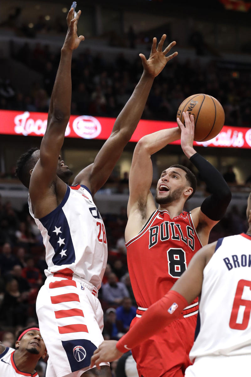 WIZARDS BULLS LAVINE