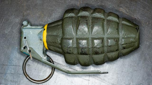 British Boy Finds Live Hand Grenade on Easter Egg Hunt