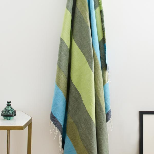"""<br> <br> <strong>Bolé Road Textiles</strong> Afar Throw, $, available at <a href=""""https://go.skimresources.com/?id=30283X879131&url=https%3A%2F%2Fboleroadtextiles.com%2Fcollections%2Fbedroom%2Fproducts%2Fafar-throw-dawn"""" rel=""""nofollow noopener"""" target=""""_blank"""" data-ylk=""""slk:Bolé Road Textiles"""" class=""""link rapid-noclick-resp"""">Bolé Road Textiles</a>"""