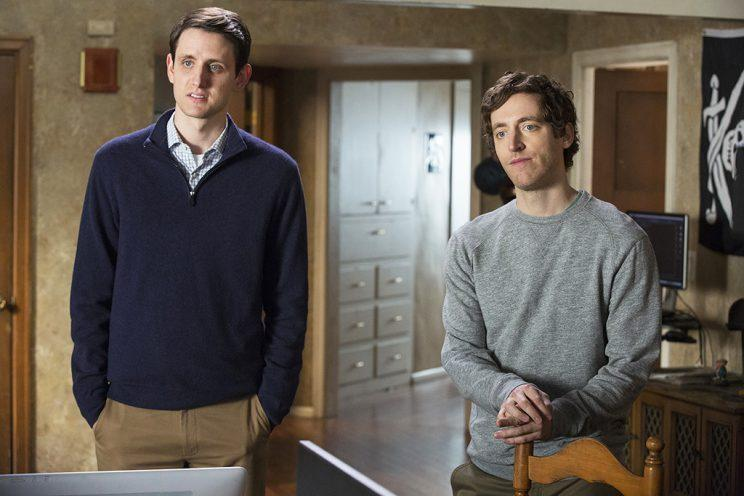 Woods and Thomas Middleditch on 'Silicon Valley' (Photos: HBO)