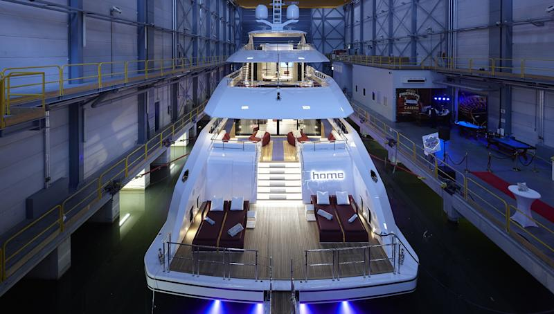 Heesen Yachtslaunched last week its much-anticipated hybrid superyacht Project Nova, newly christenedHome. The 163-foot (49.8-meter) aluminum motor yacht is the first Fast Displacement yacht with hybrid propulsion.