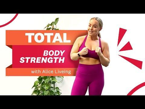 "<p>Build full-body power and lean muscle with WH columnist, author and PT Alice Liveing in this <a href=""https://www.womenshealthmag.com/uk/gym-wear/g33455565/best-dumbbells/"" rel=""nofollow noopener"" target=""_blank"" data-ylk=""slk:dumbbell"" class=""link rapid-noclick-resp"">dumbbell</a> strength training class. Don't stress if you don't have any <a href=""https://www.womenshealthmag.com/uk/fitness/a707651/home-gym-equipment/"" rel=""nofollow noopener"" target=""_blank"" data-ylk=""slk:home gym equipment"" class=""link rapid-noclick-resp"">home gym equipment</a>, Alice will give alternatives for those without. </p><p><strong>Equipment: </strong>A set of dumbbells<br></p><p><a href=""https://www.youtube.com/watch?v=NjZCCr2oInM&ab_channel=Women%27sHealthUK"" rel=""nofollow noopener"" target=""_blank"" data-ylk=""slk:See the original post on Youtube"" class=""link rapid-noclick-resp"">See the original post on Youtube</a></p>"