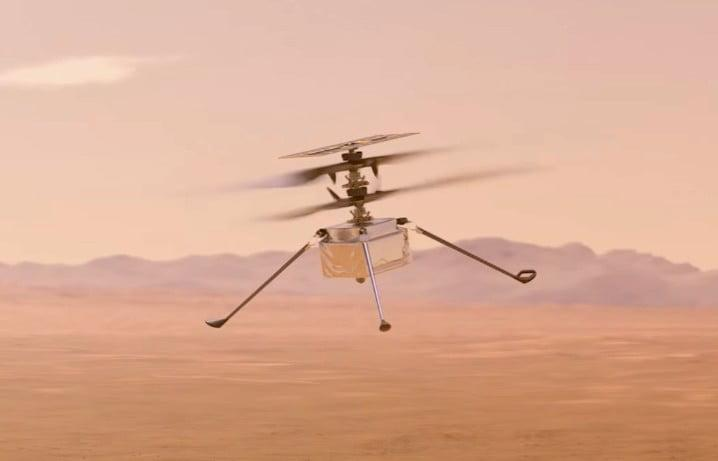 NASA's Ingenuity Mars helicopter passes first test in space