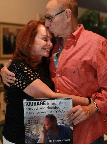 PHOTO: Steven Sotloff's parents, Shirley and Arthur, talk about their son on August 14, 2015. Steven, a Pinecrest journalist, was slain by ISIS on September 2, 2014. (Andrew Bosch/Miami Herald/Tribune News Service via Getty Images, FILE)