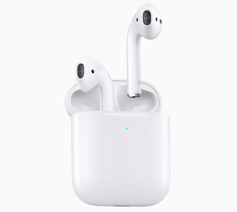 Apple's second-generation AirPods are every bit the must-have as their predecessors. But they don't give much reason to upgrade if you already have a pair. (Image: Apple)